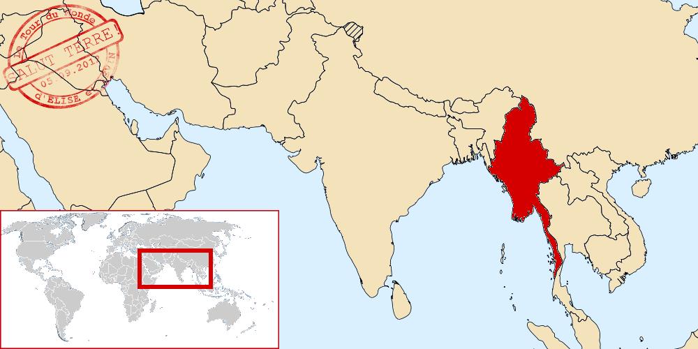 Birmanie dans le monde