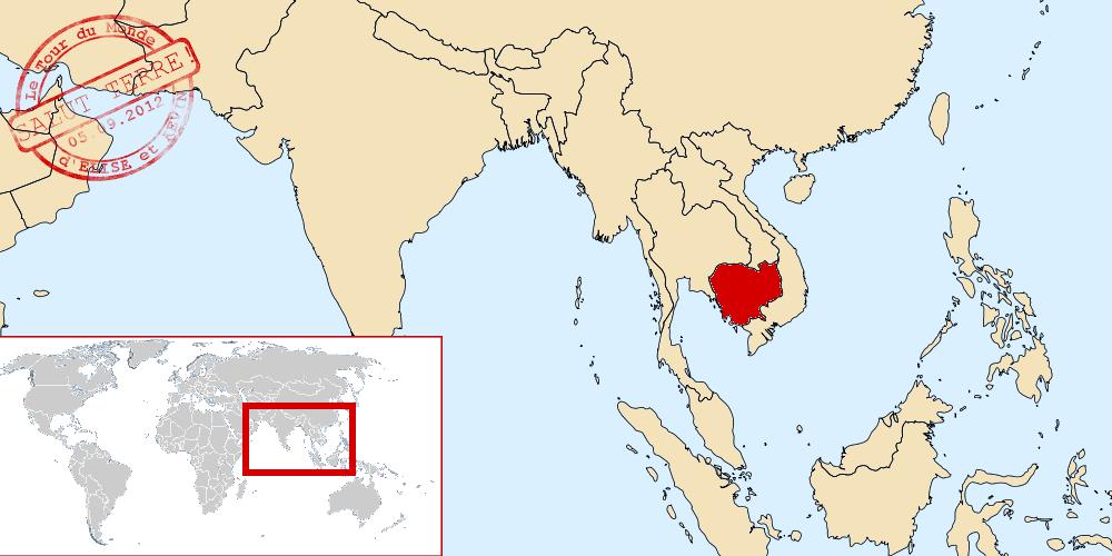 Cambodge dans le monde