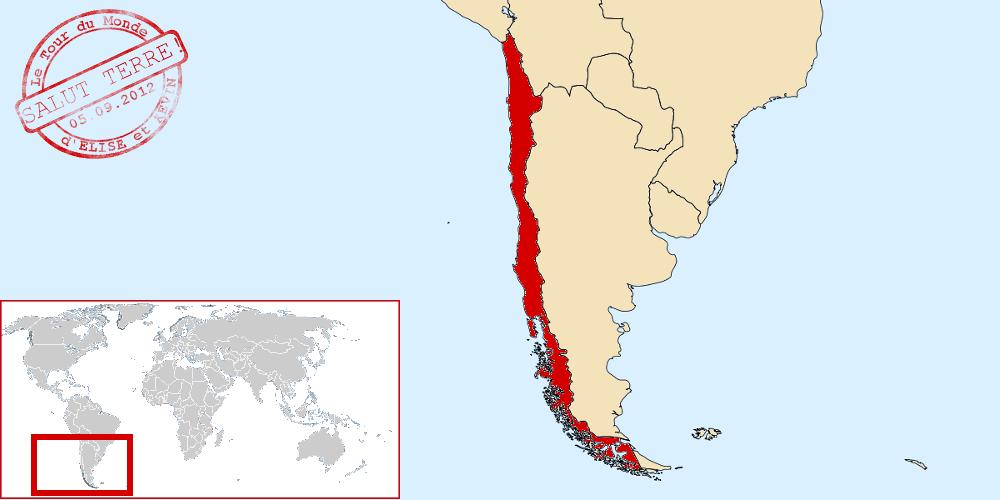 Chili dans le monde