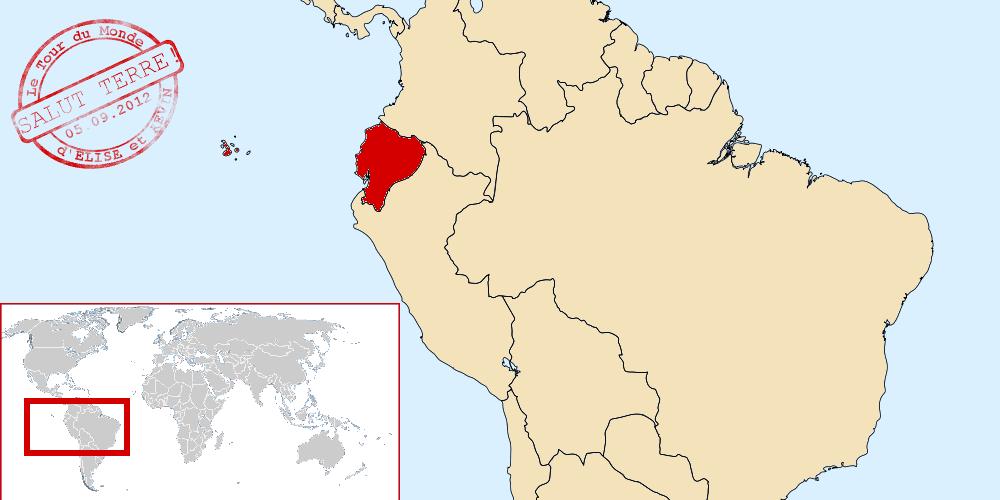 Equateur dans le monde
