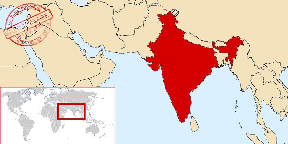 Inde dans le monde