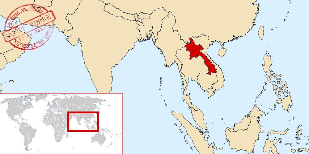 Laos dans le monde
