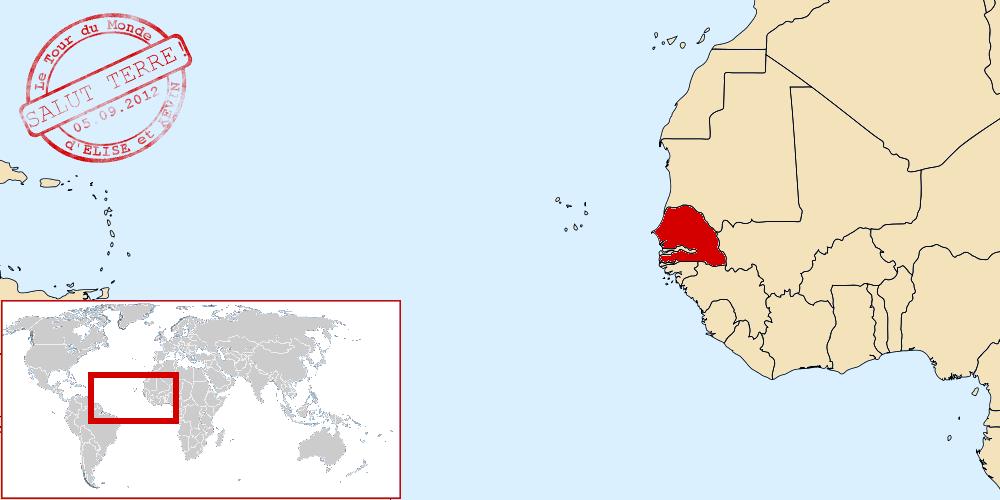 Senegal dans le monde