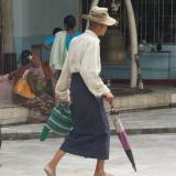Longyi homme - Birmanie