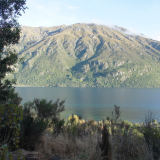 Vue proche de Queenstown - Nouvelle-Zélande