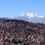 7. Vue du mirador Killi killi - La Paz - Boivie