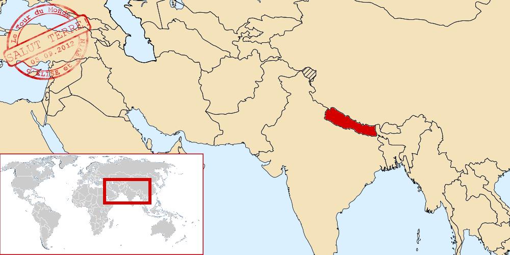 Népal dans le monde
