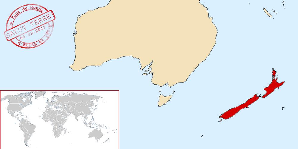 Nouvelle-Zélande dans le monde