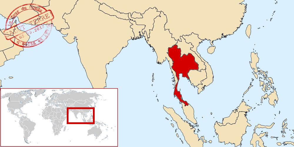 Thaïlande dans le monde