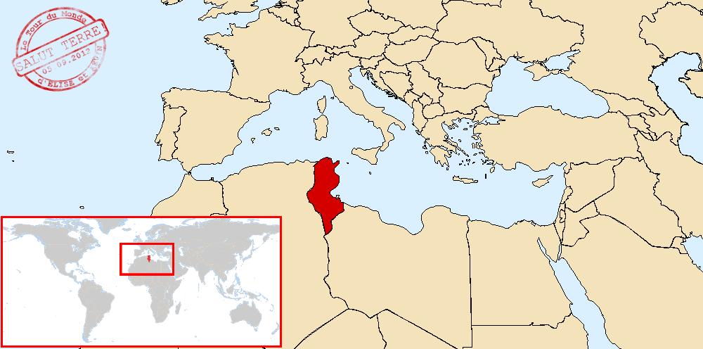 Tunisie dans le monde