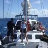 13 - Vue avant voilier