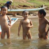 Trajet sur la Nam Ou - De Niang Khiaw à Muang Ngoi Neua - Laos
