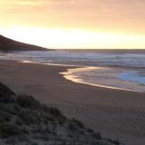 Lever de soleil sur la plage - Australie
