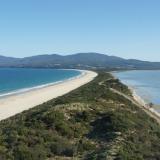 Le cou de Bruny Island - Tasmanie - Australie