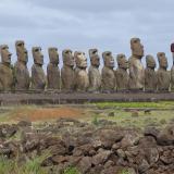 41. Ile de Paques -a Ahu Tongariki